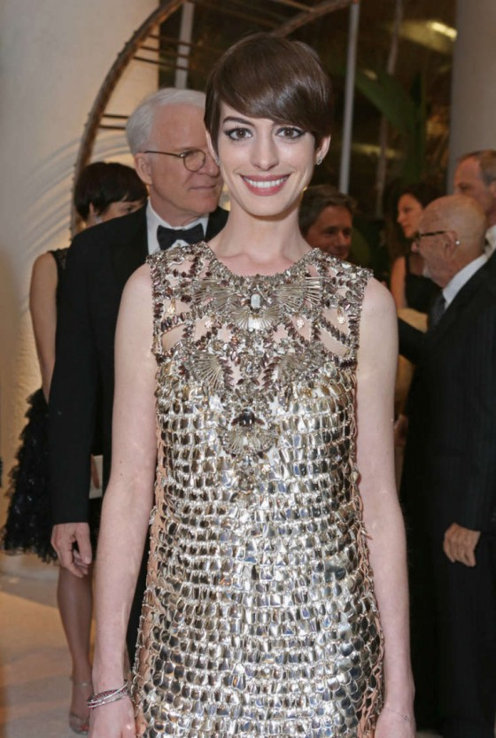 Anne Hathaway – 2013 Costume Designers Guild Awards-03