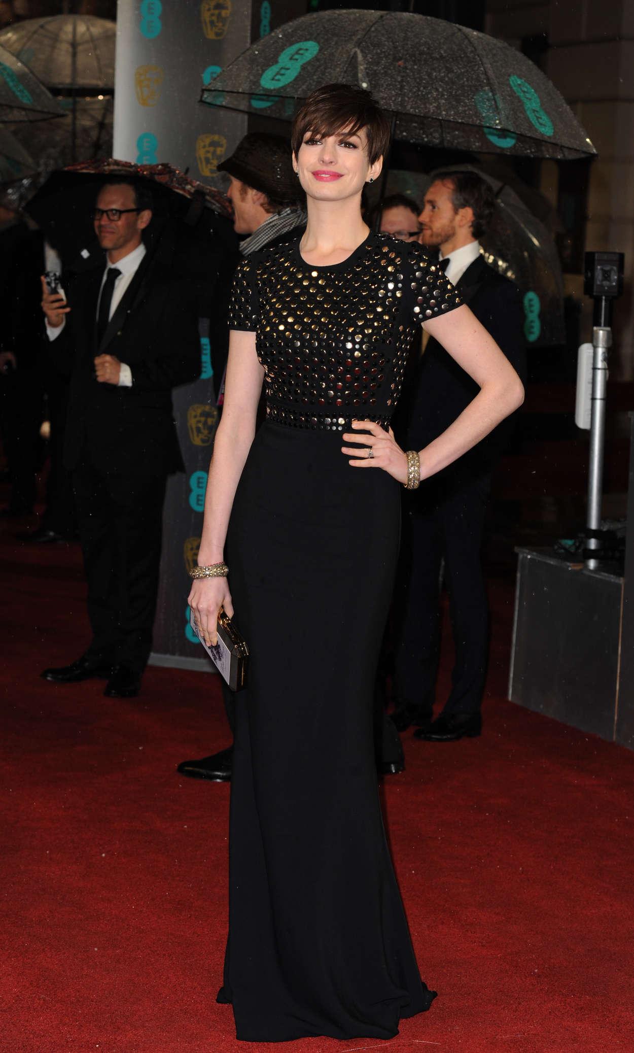 Anne Hathaway - Oscar 2013 - Vanity Fair Party in West