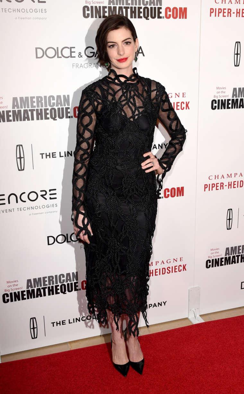 Anne Hathaway: Oscar 2014 - Vanity Fair Party -19 | GotCeleb