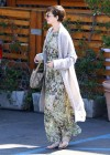 Anne Hathaway at a meeting in Brentwood -20