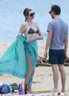 Anne Hathaway Bikini in Hawaii -08
