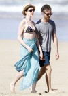Anne Hathaway Bikini in Hawaii -17