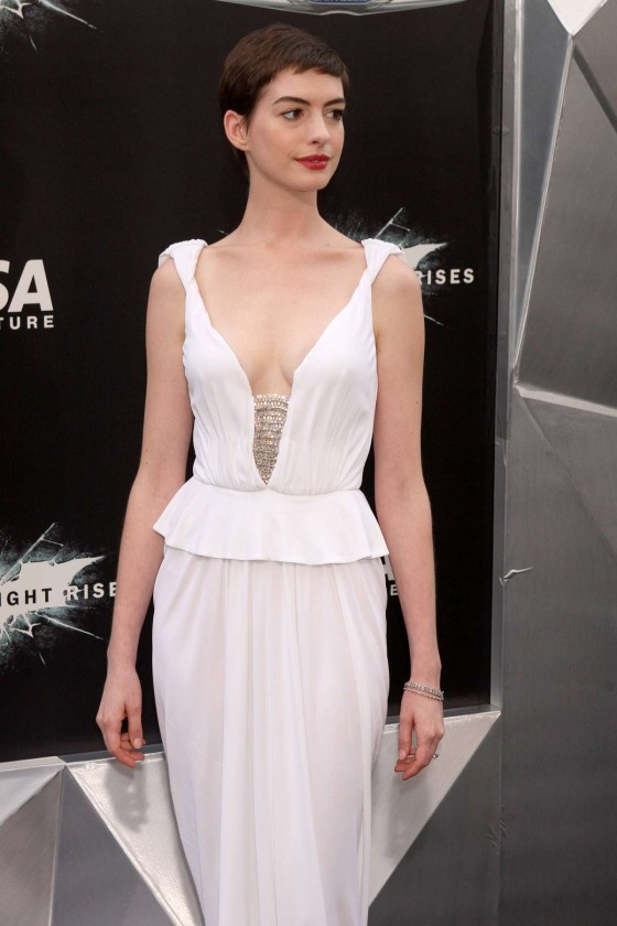 Anne Hathaway – Catwoman at Dark Knight Rises Premiere-27