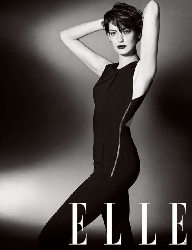 Anne Hathaway - Elle UK Magazine (November 2014)
