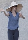 Anne Hathaway out and about candids in Los Angeles