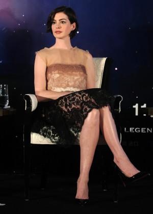 Anne Hathaway - 'Interstellar' Press Conference in Shanghai