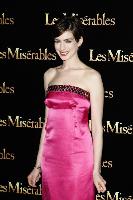 Anne Hathaway at Les Miserables premiere in Paris-09