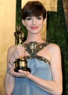 Anne Hathaway - Oscar 2013 - Vanity Fair Party -11
