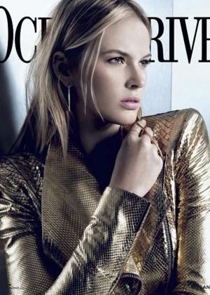 Anne Vyalitsyna: Ocean Drive Magazine -10