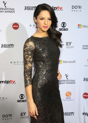 Annet Mahendru - 2014 International Academy Of Television Arts & Sciences Emmy Awards in NYC