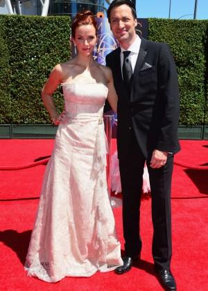 Annie Wersching - Creative Arts Emmy Awards 2014