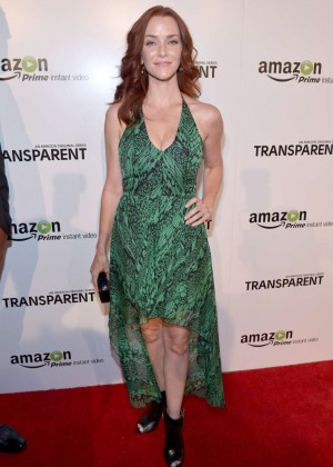 "Annie Wersching - ""Transparent"" Premiere in LA"