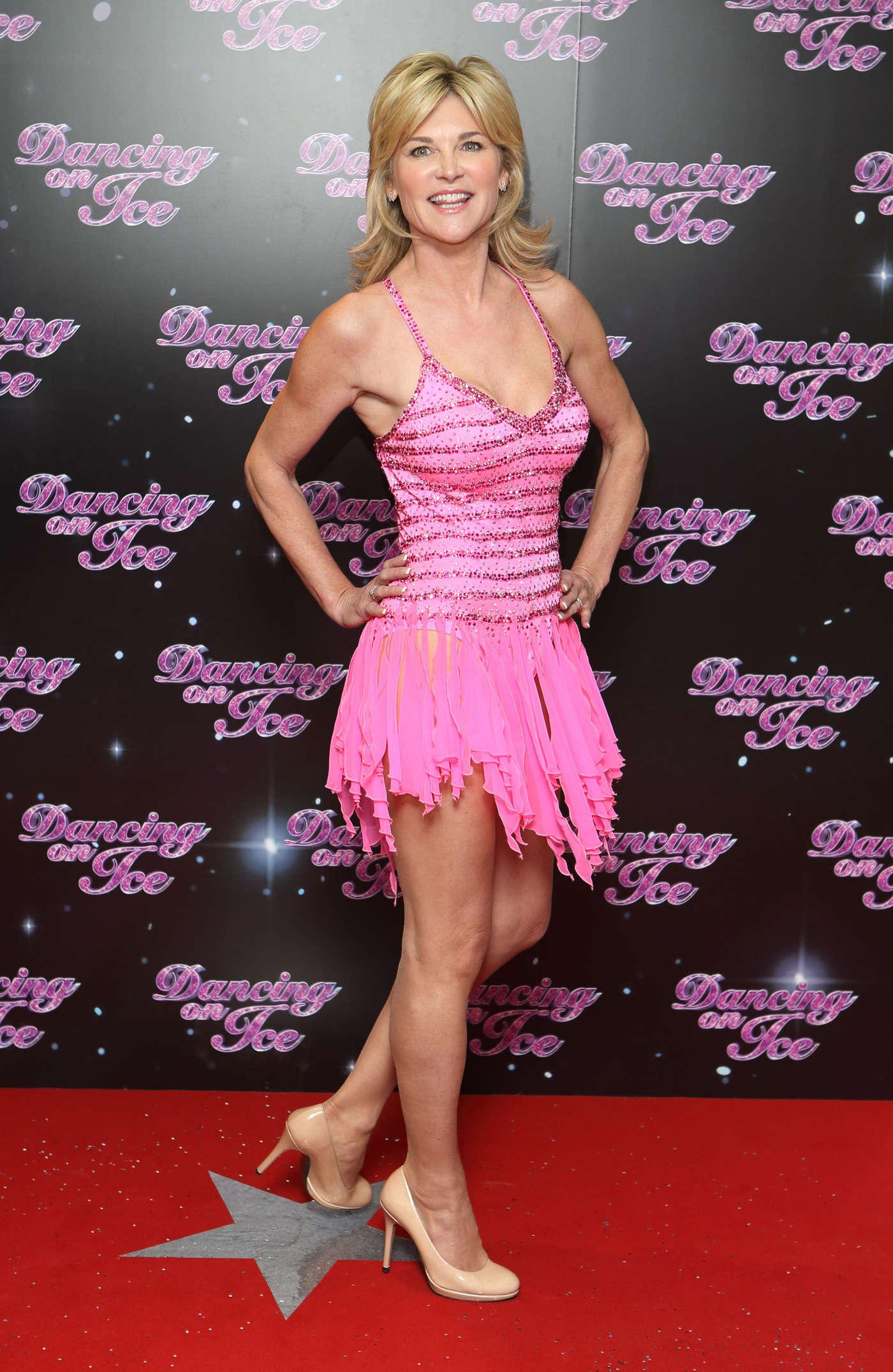 Anthea Turner At Dancing On Ice 13 Gotceleb