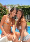 Antonella Roccuzzo in thong bikini - Lionel Messi girlfriend-13