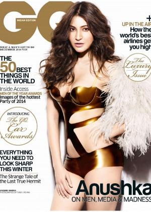 Anushka Sharma - GQ India Magazine (December 2014)