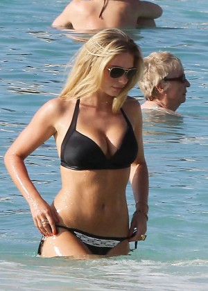 April Summers Black Bikini Photos: 2014 in Barbados -39