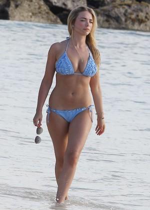 April Summers Bikini Photos: 2014 in Miami -03