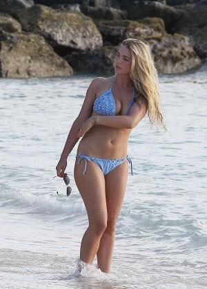 April Summers Bikini Photos: 2014 in Miami -07
