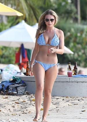 April Summers Bikini Photos: 2014 in Miami -15