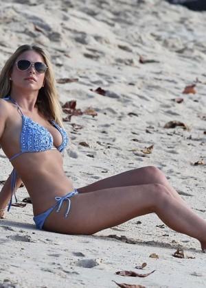 April Summers Bikini Photos: 2014 in Miami -16
