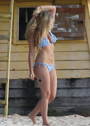 April Summers Bikini Photos: 2014 in Miami -35