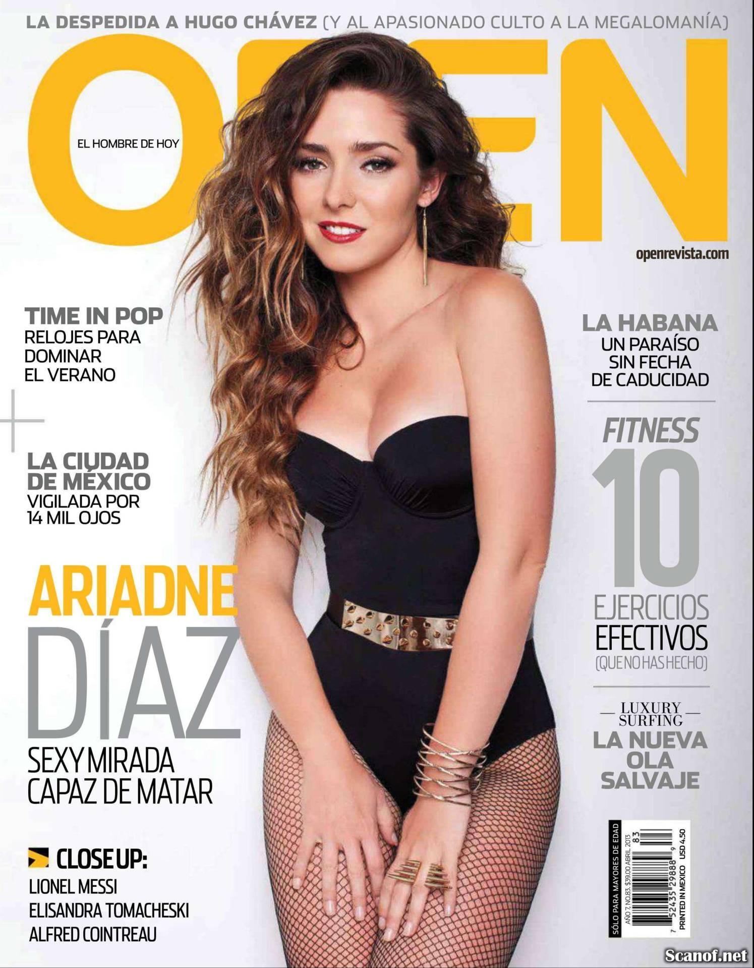 Ariadne Diaz Pics ariadne diaz - open mx magazine -03 | gotceleb