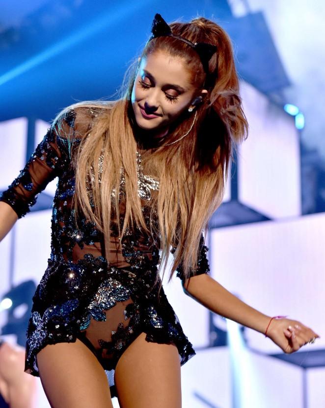 Ariana Grande - 2014 iHeartRadio Music Festival in Las Vegas