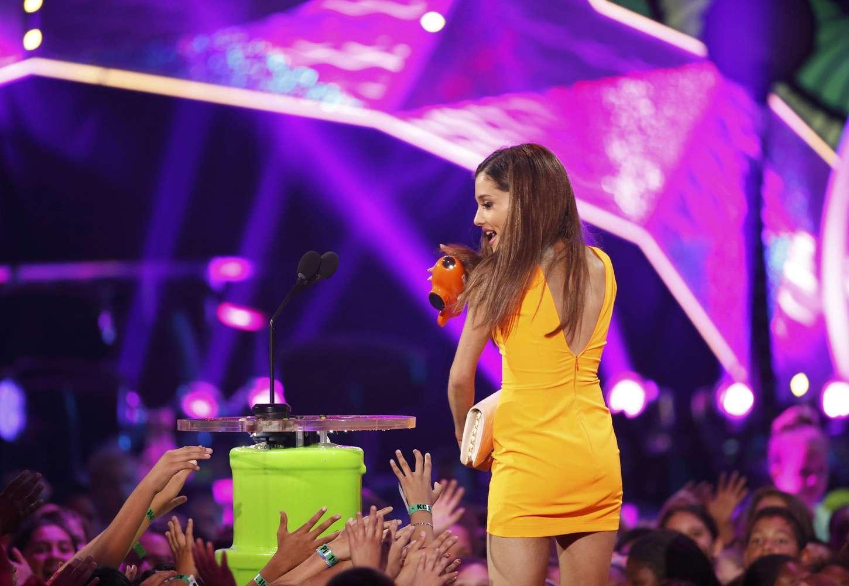 Ariana Grande: 2014 Kids Choice Awards -09 - GotCeleb
