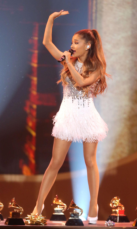 Ariana Grande A Very Grammy Christmas In La Gotceleb