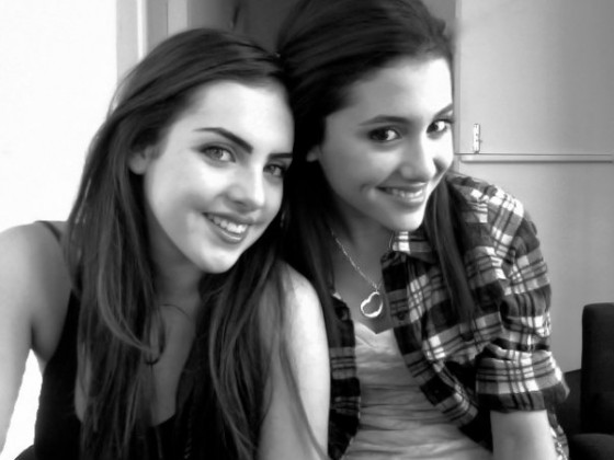 Ariana Grande And Elizabeth Gillies-04