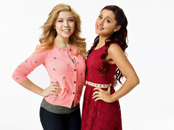 "Ariana Grande and Jennette McCurdy - ""Sam & Cat"" Promo Photo"