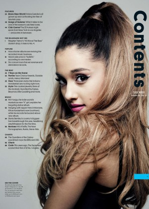 Ariana Grande - Billboard Magazine (August 2014)