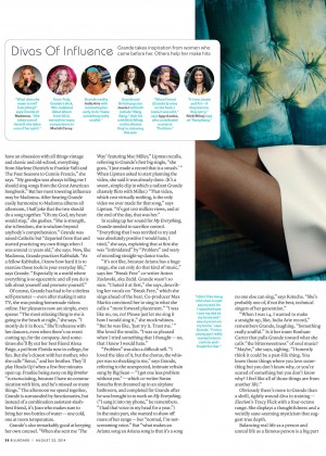 Ariana Grande: Billboard Magazine 2014 -09