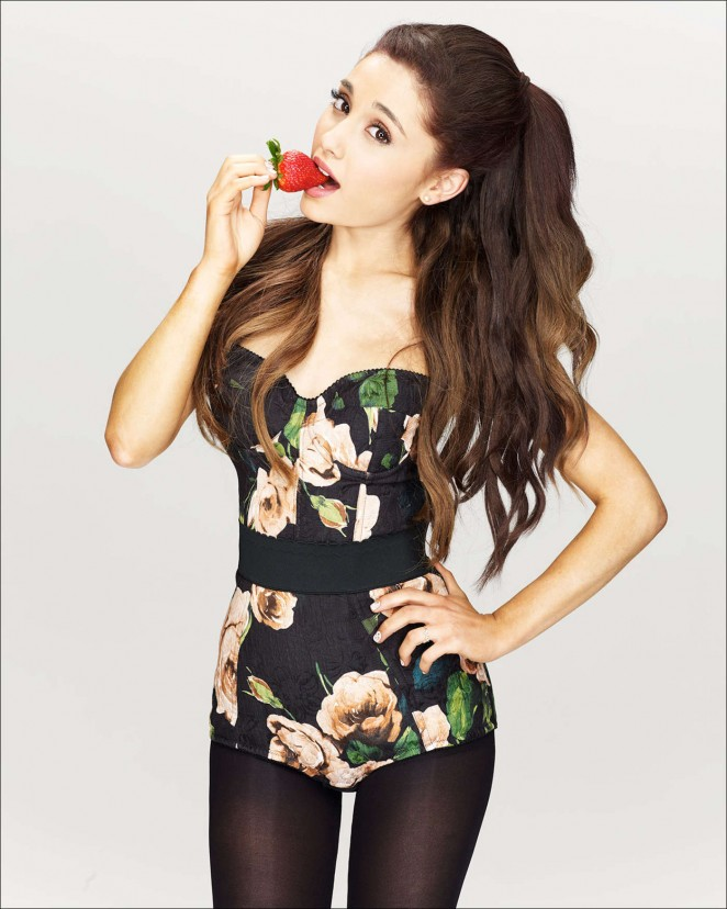 Ariana Grande by Robert Ascroft Photoshoot