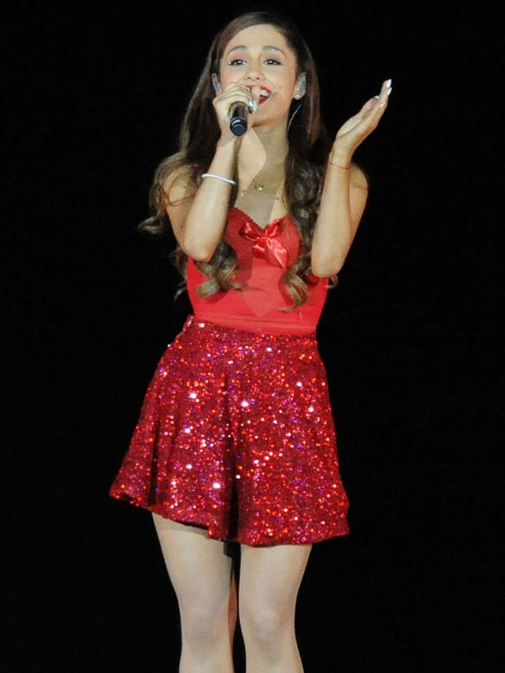 Ariana Grande Concert With Justin Bieber In Atlanta 07