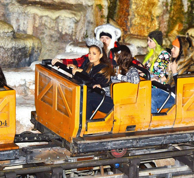 Ariana Grande at Disney World in Orlando