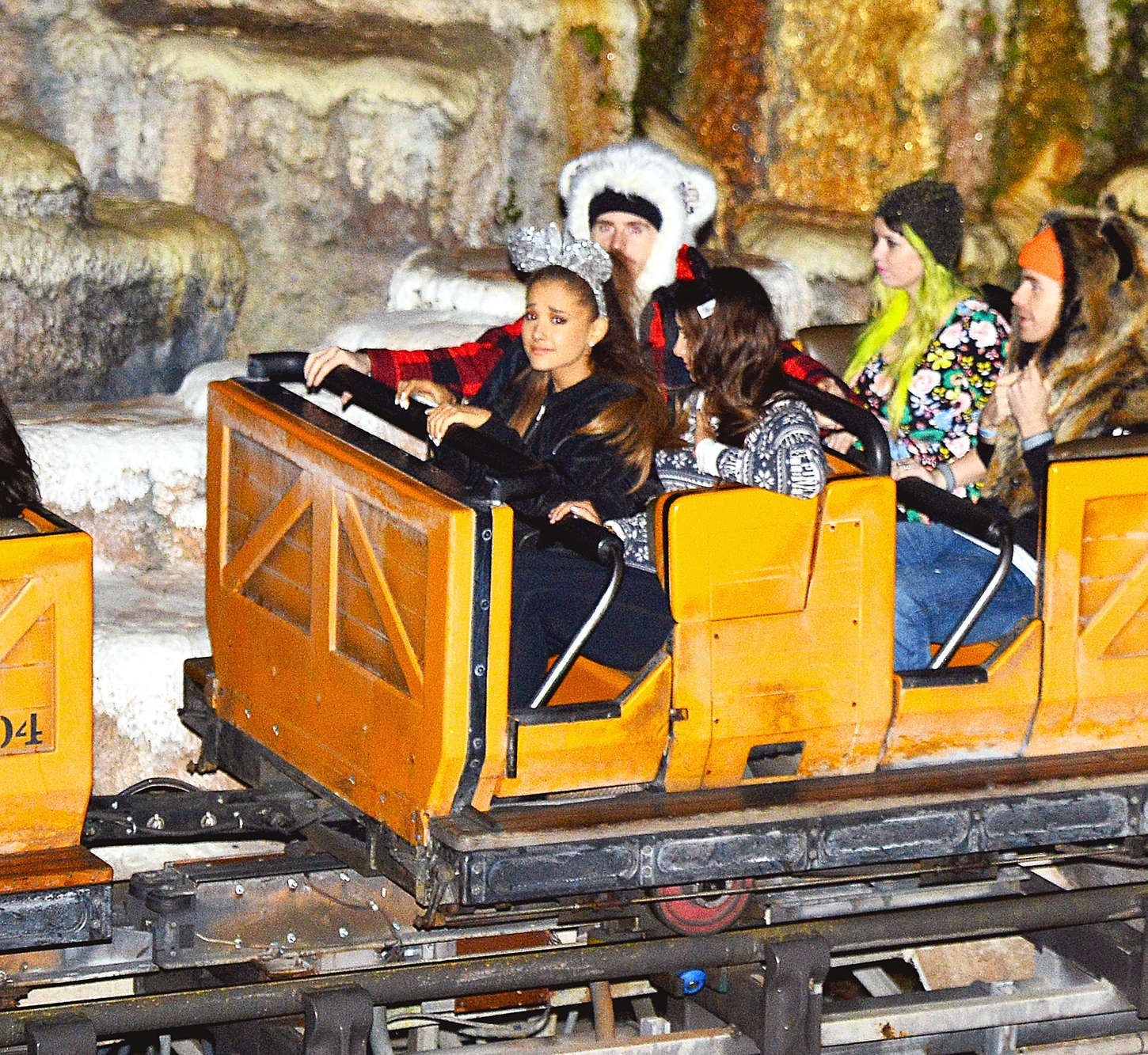 Ariana Grande at Disney World in Orlando