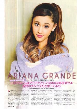Ariana Grand: InRock Japan Magazine -08