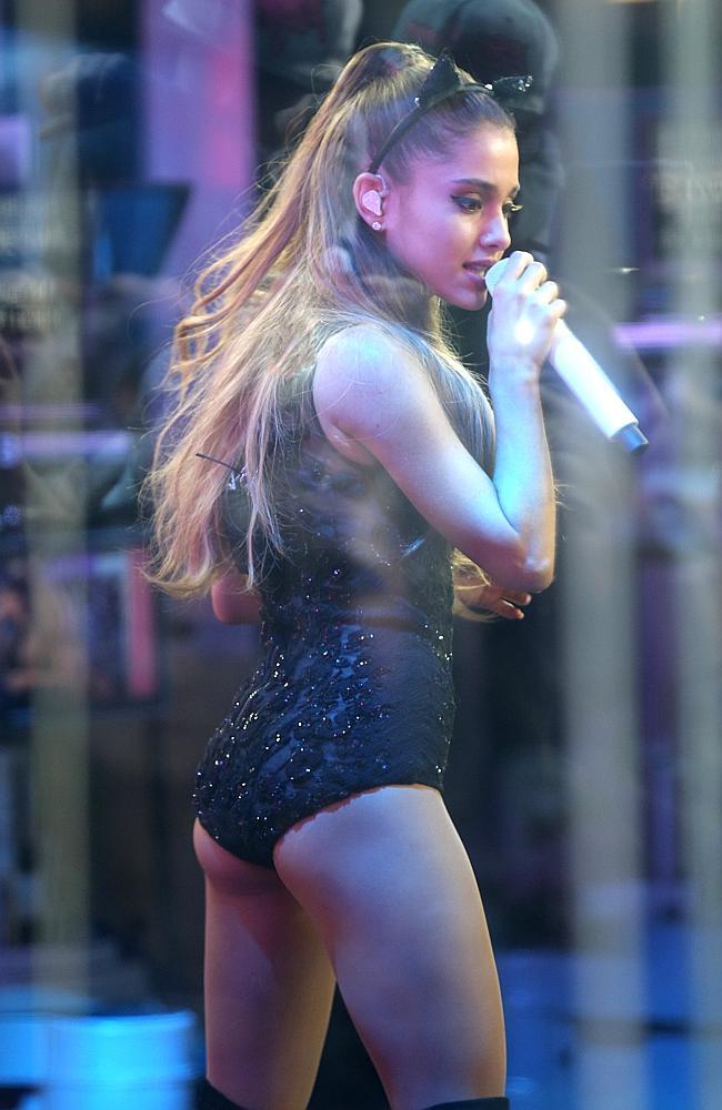 Ariana Grande - Performing on Sunrise TV in Australia