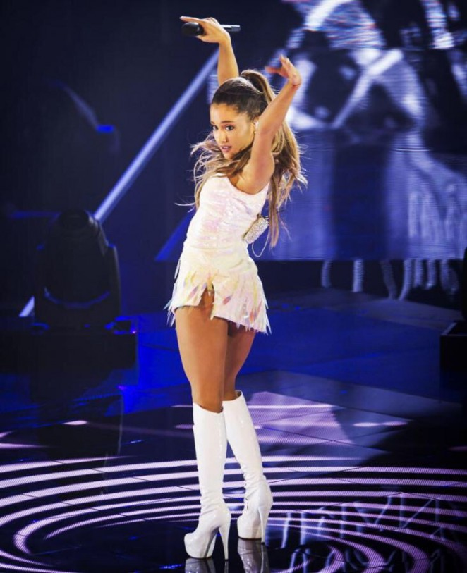 Ariana Grande - Performing on The Voice of Holland in Hilversum