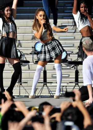 "Ariana Grande - Promoting ""My Everything"" at DiverCity Plaza in Tokyo"