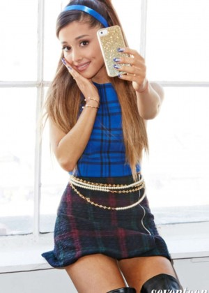 Ariana Grande is all grow up for Seventeen Magazine (September 2014)