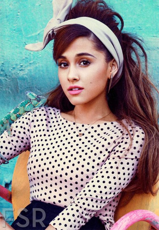 Ariana Grande – Teen Vogue Magazine (February 2014)