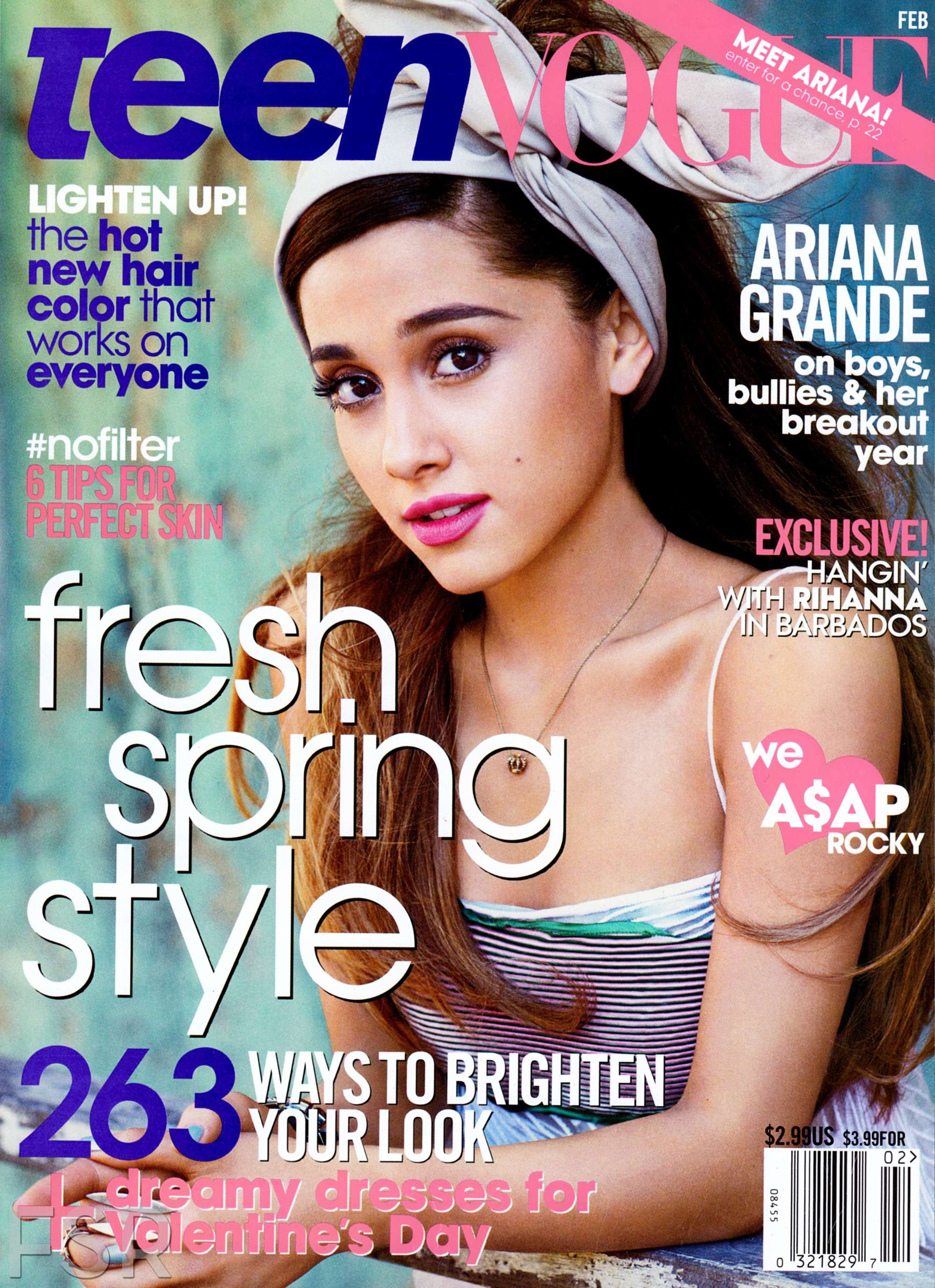 Ariana Grande: Teen Vogue Magazine -06