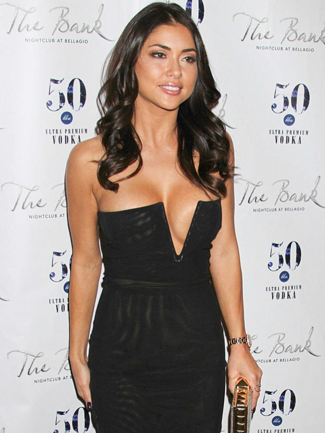 Arianny Celeste - Celebrating her birthday at The Bank in Las Vegas