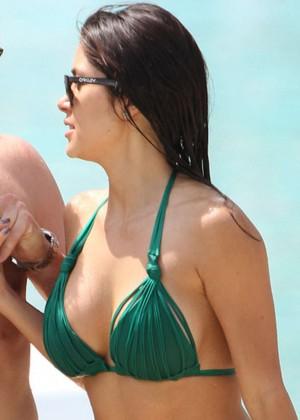 Arianny Celeste Bikini Photos: 2014 in Miami -01