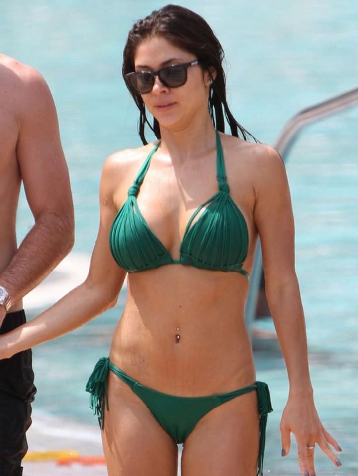 Arianny Celeste Bikini Photos: 2014 in Miami -02