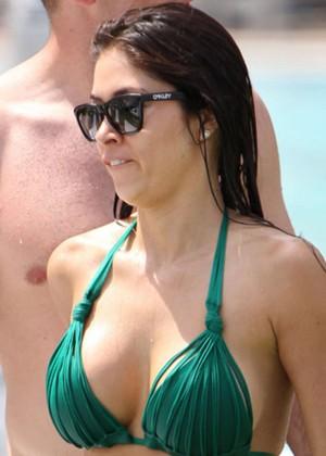 Arianny Celeste Bikini Photos: 2014 in Miami -03