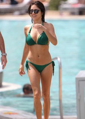 Arianny Celeste Bikini Photos: 2014 in Miami -04