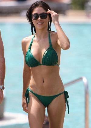 Arianny Celeste Bikini Photos: 2014 in Miami -05